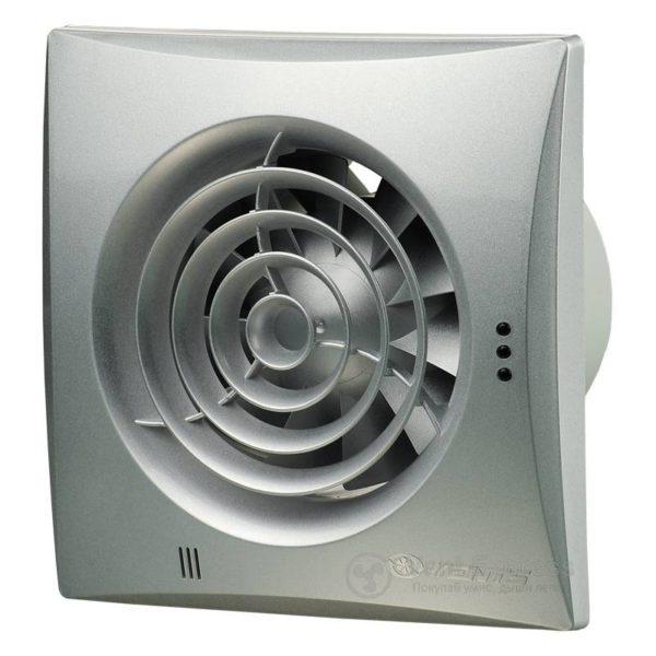 Вытяжной вентилятор VENTS 125 Квайт алюм. мат