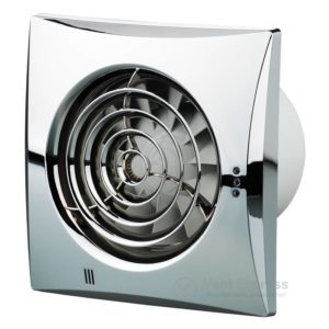 Вытяжной вентилятор VENTS 125 Квайт Т хром