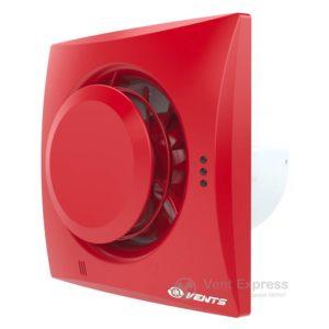 Вытяжной вентилятор VENTS Квайт-Диск 100 красный