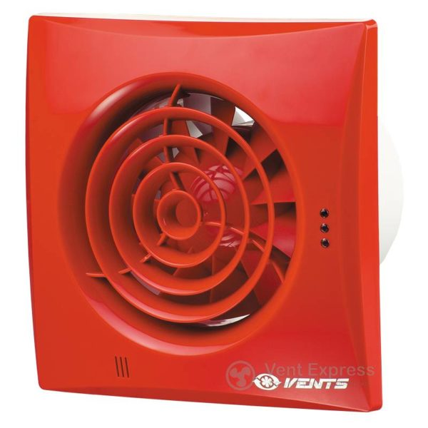 Вытяжной вентилятор VENTS 150 Квайт красный