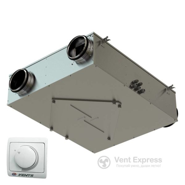 Приточно-вытяжная установка с рекуперацией тепла VENTS ВУЭ 150 П3 А1