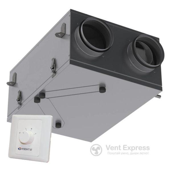 Приточно-вытяжная установка с рекуперацией тепла VENTS ВУТ 100 П мини