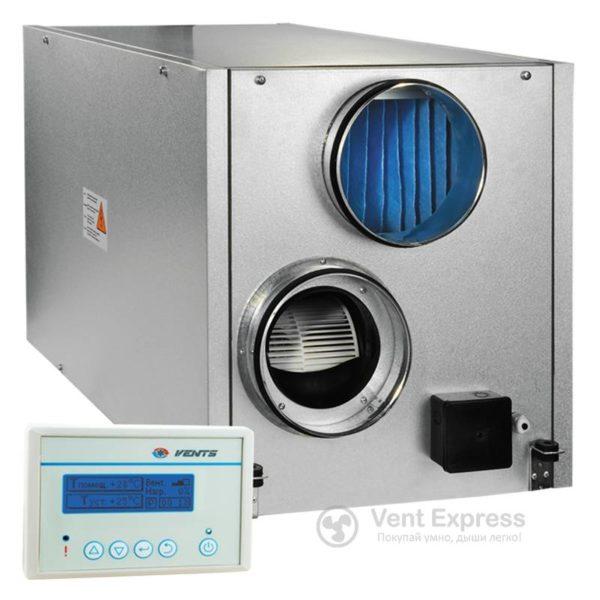 Приточно-вытяжная установка с рекуперацией тепла VENTS ВУТ 500 ЭГ П
