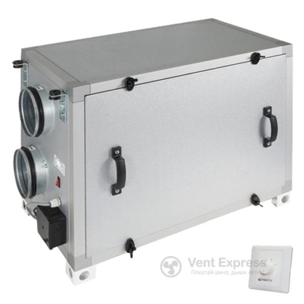 Приточно-вытяжная установка с рекуперацией тепла VENTS ВУТ 1000 Г
