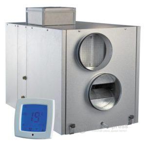 Приточно-вытяжная установка с рекуперацией тепла VENTS ВУТ 2000 ВГ-4 П