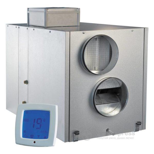 Приточно-вытяжная установка с рекуперацией тепла VENTS ВУТ 800 ВГ-4 П