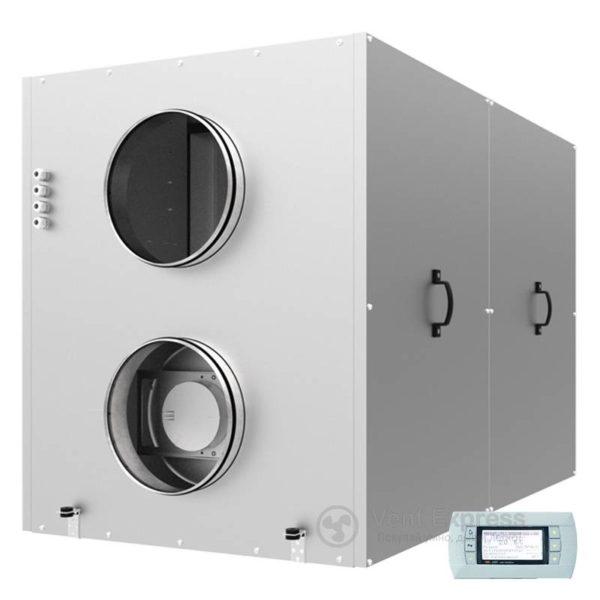 Приточно-вытяжная установка с рекуперацией тепла VENTS ВУТР 1200 ВГ ЕС А18