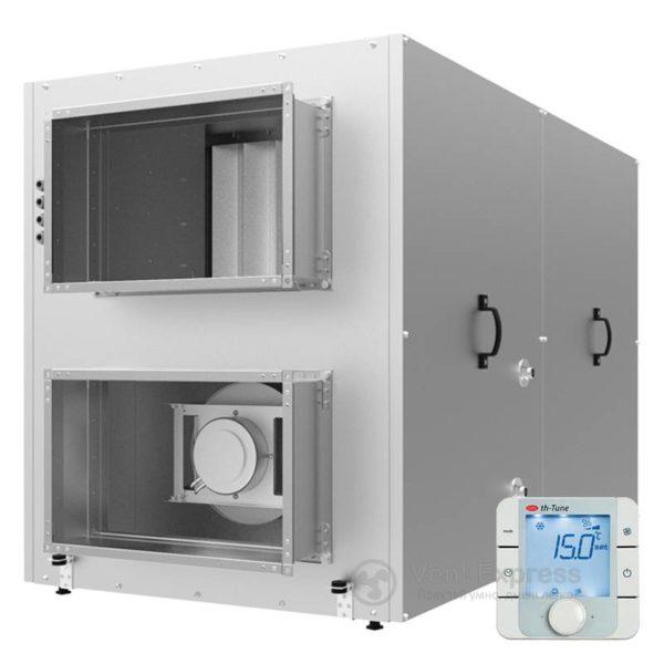 Приточно-вытяжная установка с рекуперацией тепла VENTS ВУТР 2000 ЭГ ЕС А17