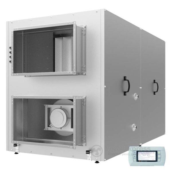 Приточно-вытяжная установка с рекуперацией тепла VENTS ВУТР 2000 ВГ ЕС А18