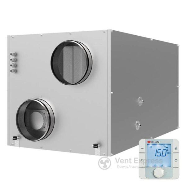 Приточно-вытяжная установка с рекуперацией тепла VENTS ВУТР 700 ВГ ЕС А17