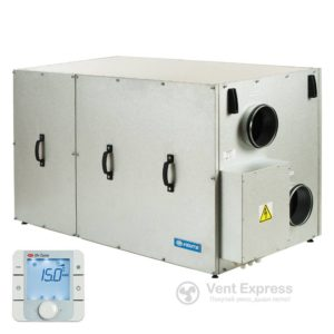 Приточно-вытяжная установка с рекуперацией тепла VENTS ВУТР 900 TH ЭГ ЕС А17