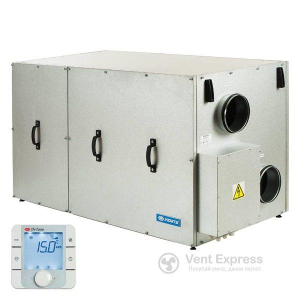 Приточно-вытяжная установка с рекуперацией тепла VENTS ВУТР 900 TH Г ЕС А17
