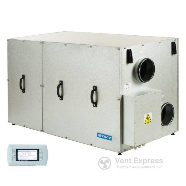 Приточно-вытяжная установка с рекуперацией тепла VENTS ВУТР 400 ТН Г ЕС А18