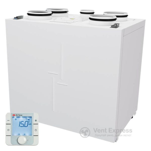 Приточно-вытяжная установка с рекуперацией тепла VENTS ВУТР 200 В2Э EC А17