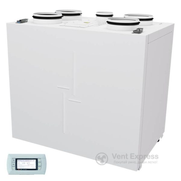 Приточно-вытяжная установка с рекуперацией тепла VENTS ВУТР 200 В2Э EC А18