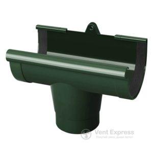 Воронка желоба RainWay 90 мм, зеленая