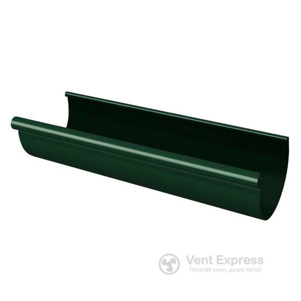 Желоб водосточный RainWay 130×1000 мм, зеленый