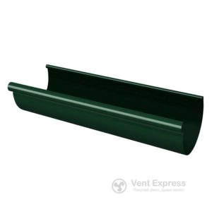 Желоб водосточный RainWay 90×3000 мм, зеленый